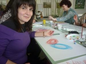 Участие в семинара Изкуството като терапия 2013